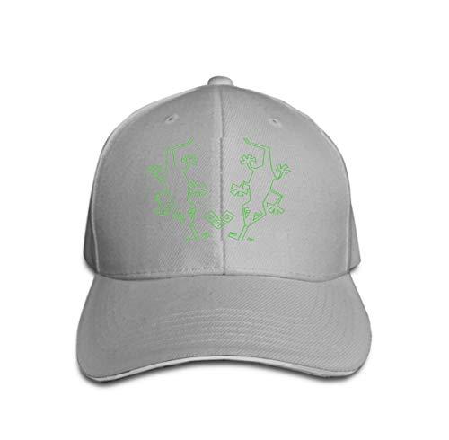 zexuandiy Neutral Cotton Denim Adjustable Hat Men Women Lizards Design Graphic Fun Gray Fun Trucker Hut