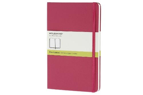 Moleskine Taccuino Notebook, Copertina Rigida, Large, a Pagine Bianche, Rosa