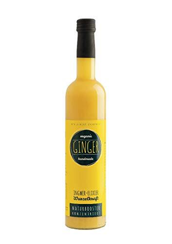 BIO WurzelKraft Elixier Ginger 500 ml - 6 Flaschen