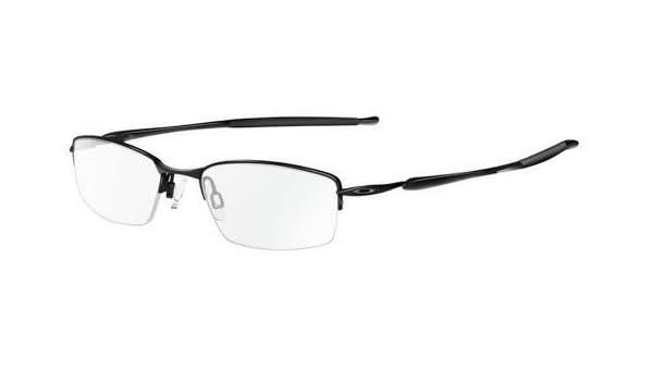 af66de8fad Oakley Rx Eyewear Men s Ox3085 Transistor Polished Black Frame Titanium  Eyeglasses