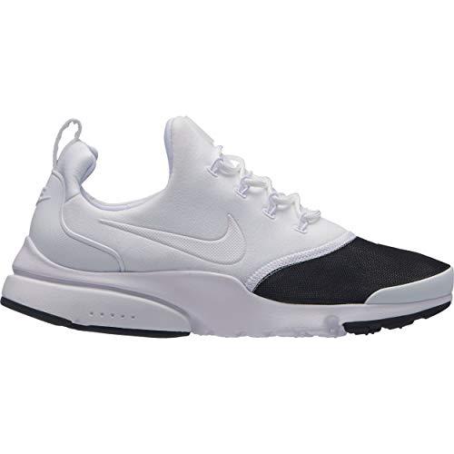 san francisco 23329 b9282 Nike Women s WMNS Presto Fly PRM Competition Running Shoes, Multicolour  White Metallic Silver