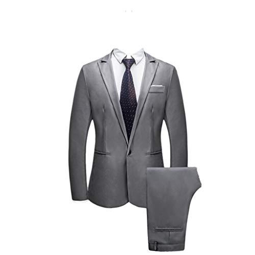 6fa78820465e FRAUIT Abito Uomo Completo Elegante Estivo Vestito Elegante Uomo +  Pantaloni Tut