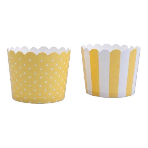 Backen Cupcake, gelb, 12-teilig (Cupcakes Steht)