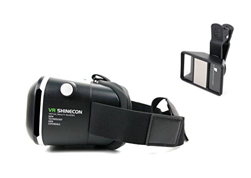 DURAGADGET Virtual Reality für Motorola Moto C (Plus) | Moto G5 S Smartphone: VR-Brille Google...