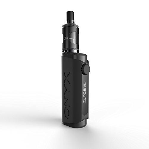ONYX Schwarz | Mod Box | Soft Touch Mod Set mit Atomizer Jmini XL und Verdampferkopf / Coil BTC R, J WELL France | e zigarette | ohne Nikotin |