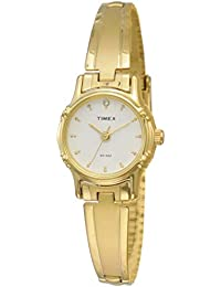 Timex Classics Analog White Dial Women's Watch - B806