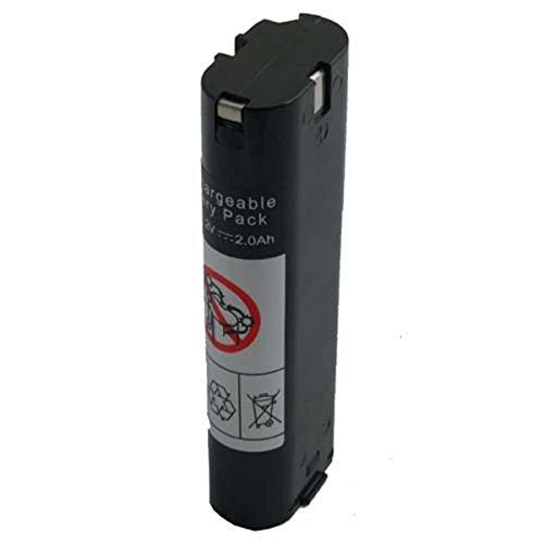 Accupower Batteria Compatibile con Makita 7000/7001/7002/7033, 7.2V, 2000 Mah