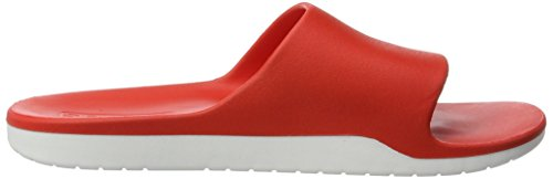 adidas Unisex-Erwachsene Aqualette Cloudfoam Badeschuhe Rot (Core Red/Footwear White/Core Red)