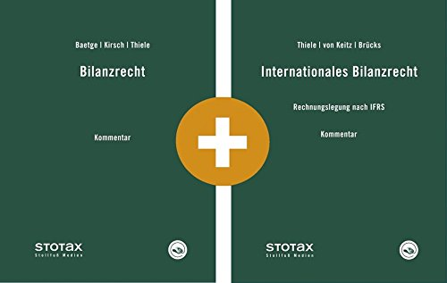 Kombi Bilanzrecht Kommentar + Internationales Bilanzrecht Kommentar (Kommentare)