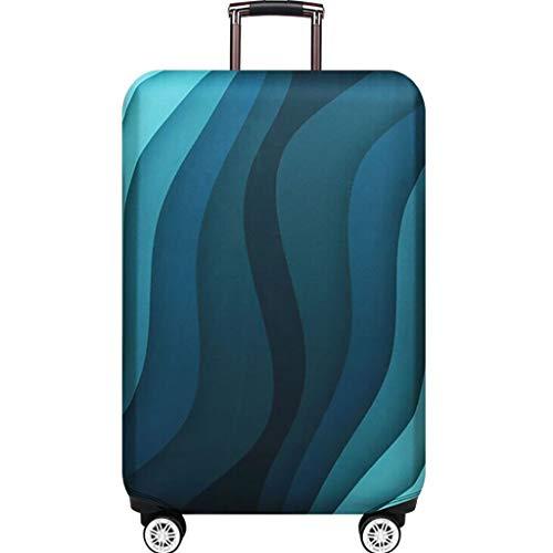 Calvinbi Taschen Travel Luggage Cover Suitcase Protector Kofferschutzhülle Gepäck Cover -Reisekoffer Hülle Kofferschutz 19-32 Zoll Nfl Protector