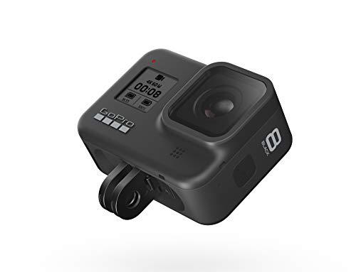 GoPro HERO8 Black - Cámara de acción Digital 4K Resistente al Agua con estabilización hipersuave, Pantalla táctil y Control de Voz: transmisión en Vivo Full HD