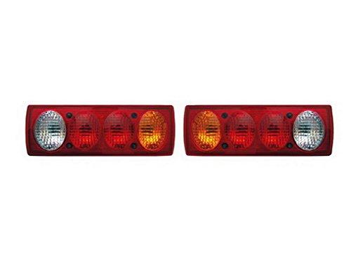 2x posteriore luci 12V 24V camion luci di arresto lampadina G13