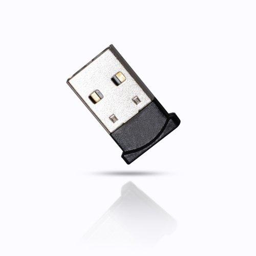 CSL - USB Adaptador nano con Bluetooth V4.0 | Tecnología Class 4.0 | El estándar más moderno | Plug & Play | compatible Win 10