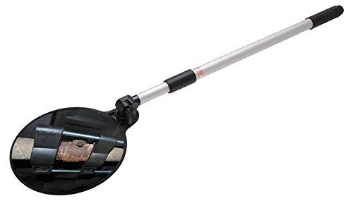 BGS 3176 Miroir d'inspection télescopique Blanc/Noir, 200mm