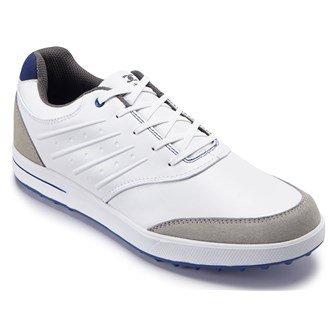 Stuburt 2015 Scarpe Urban senza Tacchetti da Golf - 7 UK/ EUR 40.5 / US 8, Bianco / Blu Elettrico