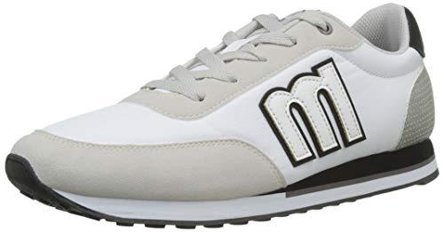 MTNG Attitude 82600 - Zapatillas para Hombre, Blanco (Ecosu...