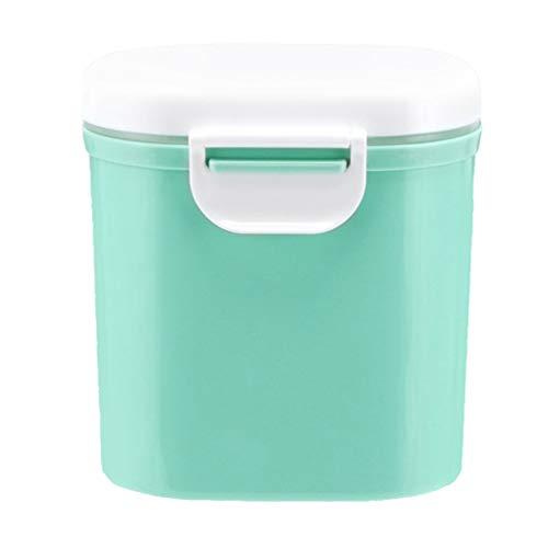 Vkospy Bebé Leche en Polvo de contenedores preparados para Lactantes Dispensador portátil Snacks apilables Caja de Almacenamiento