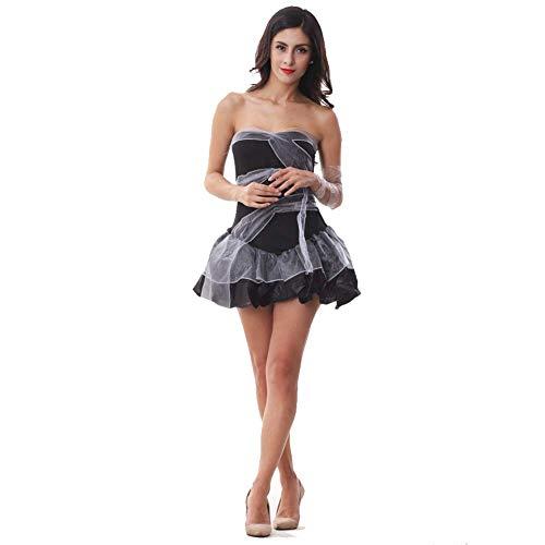 Halloween weibliches sexy Kleid, Cosplay Vampir Braut Spiel Uniform, Club Party Show Kostüm