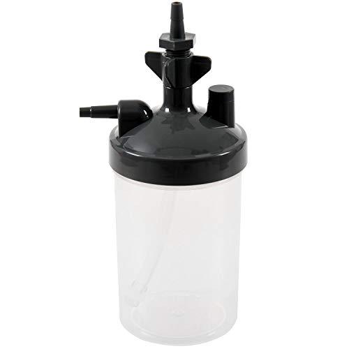 JVSISM Water Botella Humidificador para Concentrador De Oxígeno Humidificador Concentrador De Oxígeno Botella Humidificador Botellas Generador De Oxígeno Accesorios