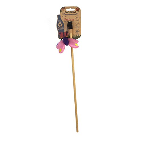 Beco Pet BCWT-001 Katzenspielzeug - Wand Toy - Beatrice The Butterfly
