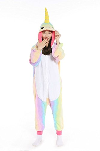 Fashion Unisex Animal Pajamas Jumpsuit Costume Cosplay Onesie Jumpsuit Kigurumi