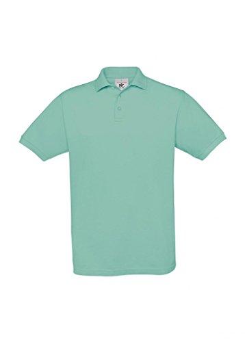Piqué Poloshirt 'Safran' Pixel Turquoise