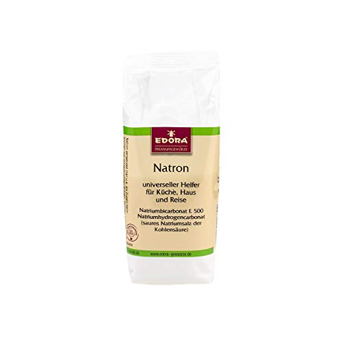Premium Qualität Gewürz EDORA Beutel Tüte Natron Natriumbicarbonat E 500 Natriumhydrogencarbonat 150 Gramm
