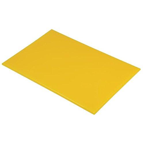 Hygiplas J020 - Tabla corte polietileno amarilla 451 x 305 x13 mm