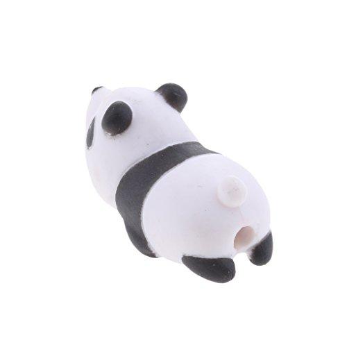 Baoblaze Handy Kabelschützer Schutzhülle für USB Kabel Eine Vielzahl von Niedlichen Tier Biss-Modelle Zum Schutz der USB Kabel Universal für iPhone HTC iPad und Computer - Panda Htc Panda