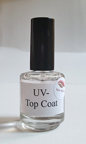 NEW Nail Art UV Top Coat 15 ml Nail Accessoires Design, colles gel transparent Vernis à ongle Soak Off