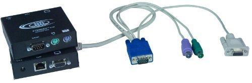 XTENDEX® VGA PS/2KVM Extender mit RS232über Cat5, Extend zu 600Füße