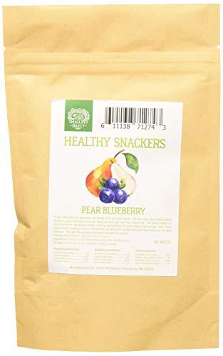 Small Pet Select Healthy Snackers Hundespielzeug, Birne/Blaubeere -
