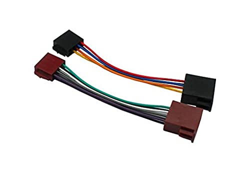 XtremeAuto® Universal Replacement ISO Adapter Lead, Wiring Loom For Use With Aftermarket Car Stereo.