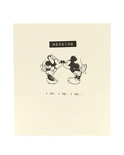 Disney Mickey & Minnie Mouse Glückwunschkarte zur Hochzeit