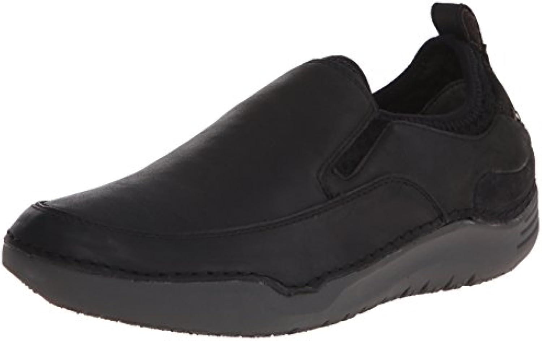 Hush Puppies Men's Men's Men's Crofton Method Slip-On Loafer, nero Leather, 10 M US | Fai pieno uso dei materiali  1ee96e