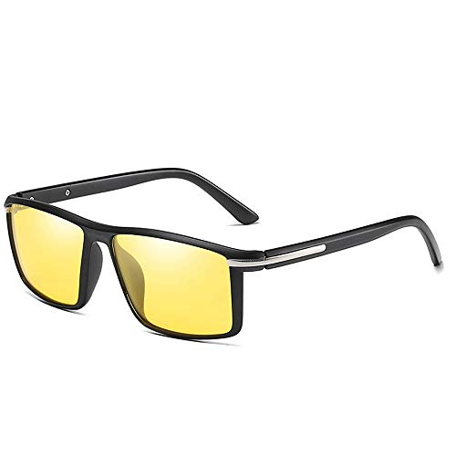 Easy Go Shopping Leichter Pilot Sports Driving TR90 Brillengestell mit ultraleichter Brille (Farbe :...