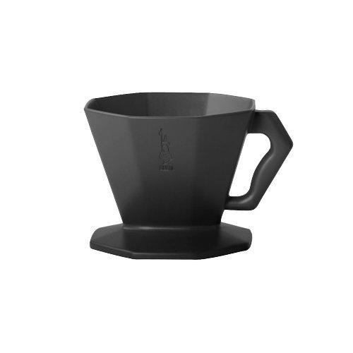 Bialetti 4913 Kaffeefilter Carlo für 2 Tassen in Kunststoff, Schwarz, 30 x 20 x 15 cm