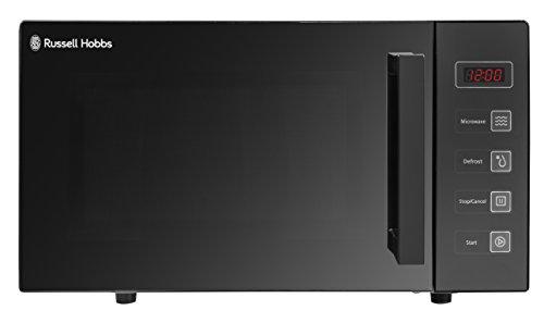 Russell Hobbs RHEM2301B 23L Flatbed Digital 800w Solo Microwave Black