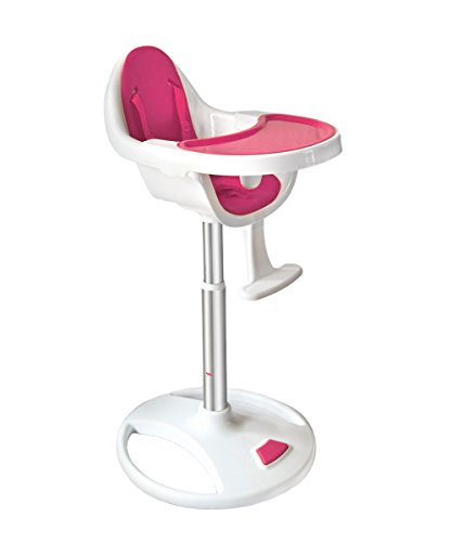 Bebe Style Modern Swivel 360 Degree Pedestal Highchair (Pink) – 2018 31Y7XxuFWGL
