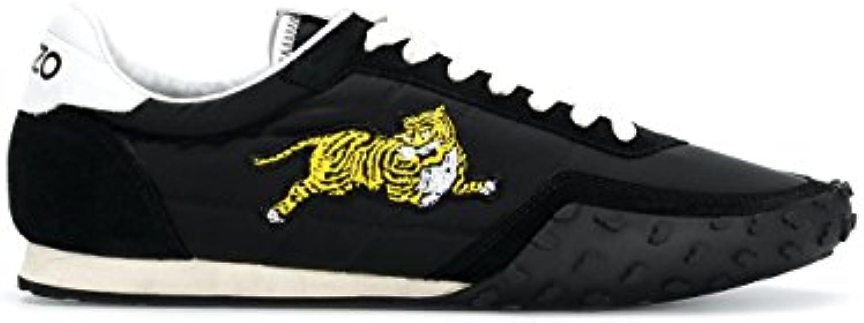 Kenzo Herren F005SN122F5699 Schwarz Leder Sneakers