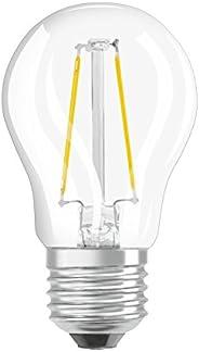 Osram LED SuperStar Classic P lampa, droppformad med E27-sockel, dimbar, ersätter 40 watt, glödtrådstil klar,