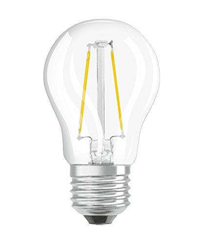 Osram Retrofit Cl Bombilla LED, E27, 1.2 watts, Blanco