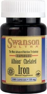 Swanson Ultra Albion Chelated Iron (18mg, 180 Capsules) by Swanson Health Products