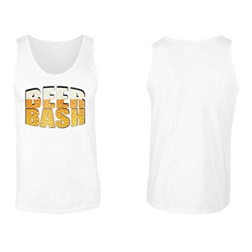 Beer Bash - Beer Lovers Club novità divertente canotta da uomo ii36mt White