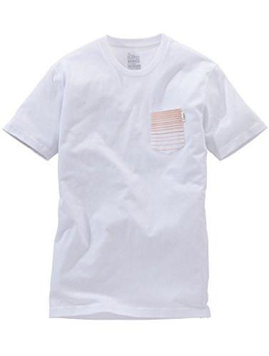 Cleptomanicx T-Shirt MEN SPECIAL TEE SPECTRA white Weiß