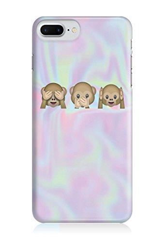 COVER HOLO MONKEYS Handy Hülle Case 3D-Druck Top-Qualität kratzfest Apple iPhone 7