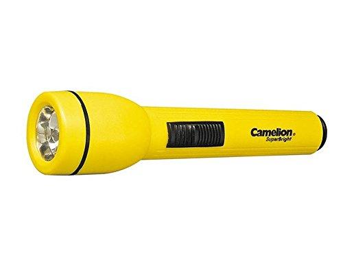 """Preisvergleich Produktbild Camelion 310.01 Taschenlampe """"Super Bright"""" 14,5 x Durchmesser 3,5 cm, Plastik, Schwarz, 14.5 x 3.5 x 3.5 cm"""