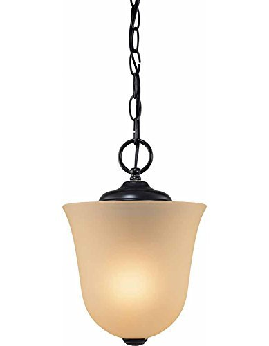 Volume Lighting V5060-79 Pendant Chain Hung, Semi -Flush, Antique Bronze Finish by Volume Lighting (Antique Bronze Semi Flush)