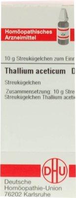 DHU Thallium aceticum D12, 10 g Globuli