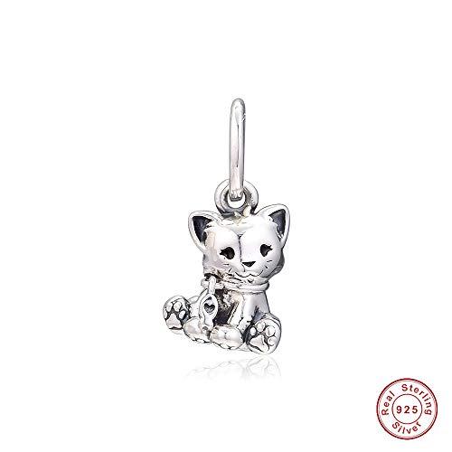 COOLTASTE 2019 - Abalorio para pulsera Pandora, diseño de gato